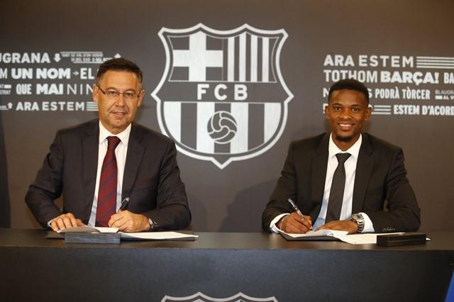 Семеду подписал контракт с «Барселоной»