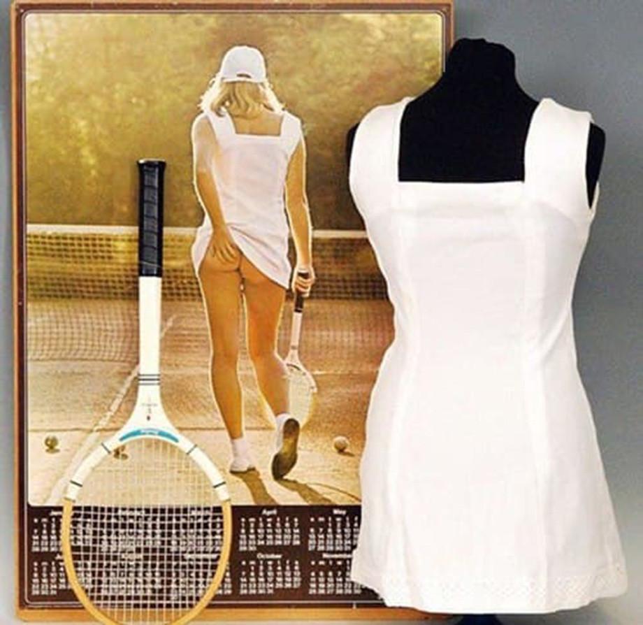 Самая соблазнительная «теннисистка» и её тайна. История одной фотографии из 70-х