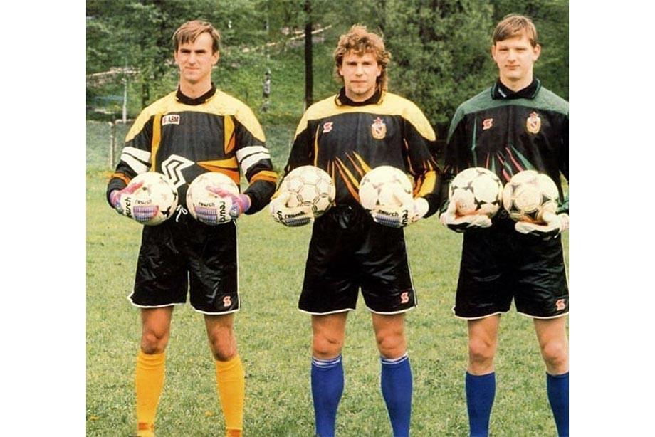 Вратари ЦСКА в сезоне-1992: Гутеев, Харин, Захарчук