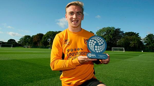 Форвард «Халл Сити» Боуэн – лучший молодой игрок Чемпионшипа в августе