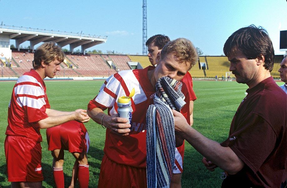 Андрей Пятницкий, Игорь Ледяхов и Валерий Карпин