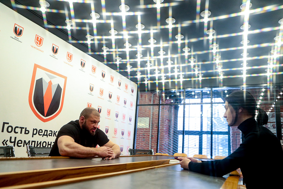 Эксклюзивное интервью с Иваном Штырковым