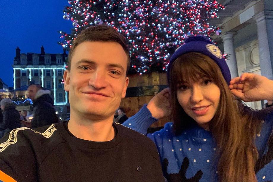 Дмитрий Егоров и Мария Лиман