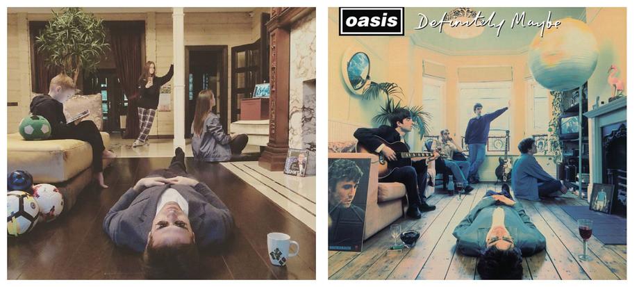 Кержаков пародирует обложки Beatles, Oasis и Emienema, фото