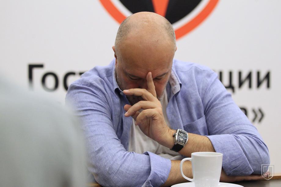 Василий Кикнадзе в гостях у «Чемпионата»