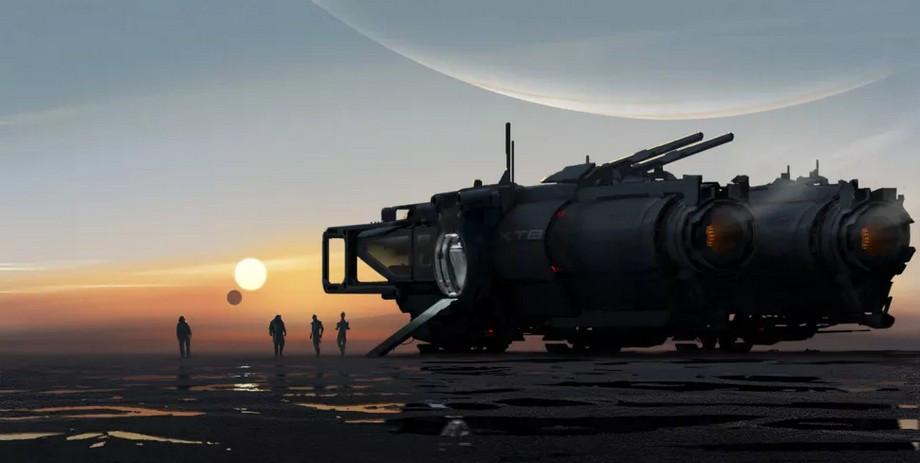 Первый концепт арт новой игры во вселенной Mass Effect.