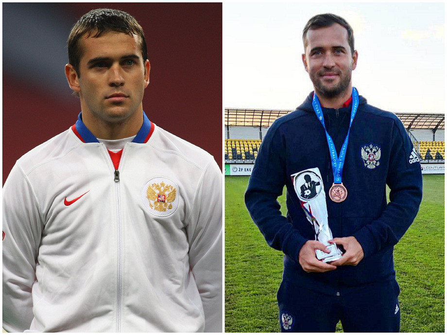 Россия – Англия – 2:1, 17 октября 2007, где сейчас участники матча