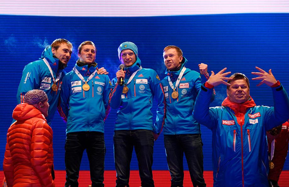 Как мужская сборная блестяще выиграла эстафету на чемпионате мира – 2017: победный финиш Шипулина