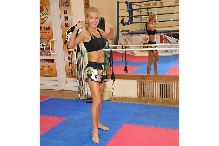 Красота дня — белорусская кикбоксёрша Екатерина Вандарьева, чемпионка и красавица, фото