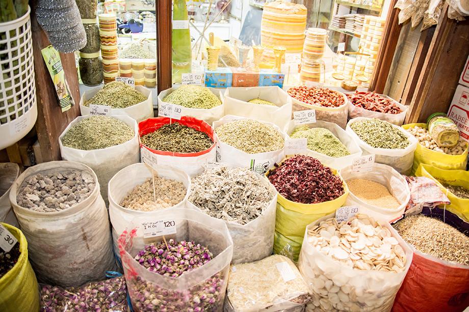 Рынок Souq Waqif в Дохе