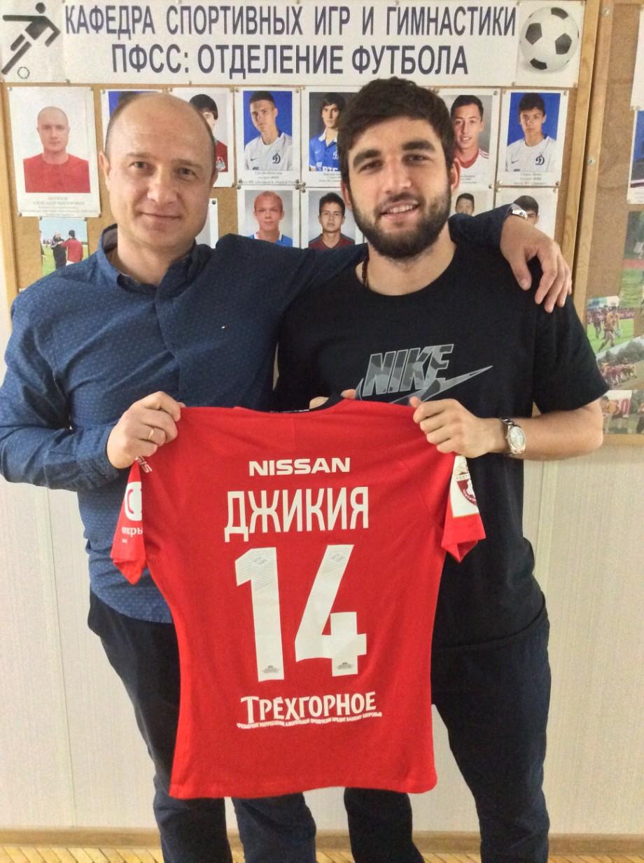Александр Антипов и Георгий Джикия