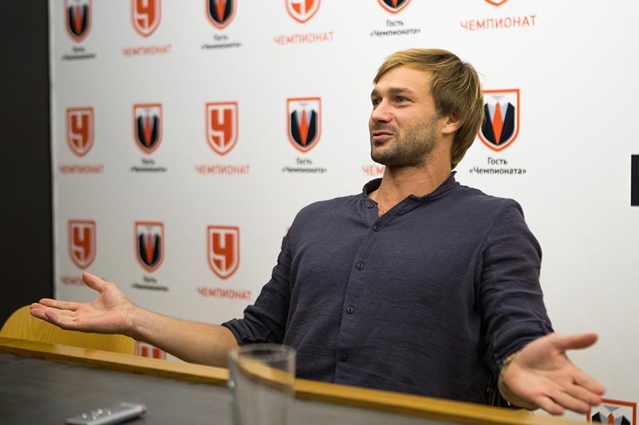 Дмитрий Сычёв в гостях у «Чемпионата»