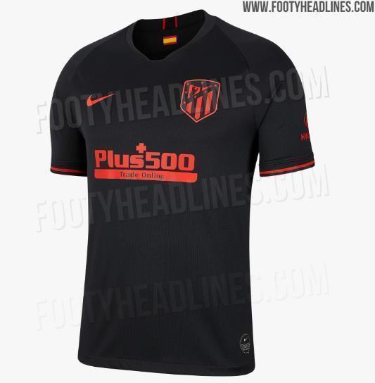 Выездная форма «Атлетико» на сезон-2019/20
