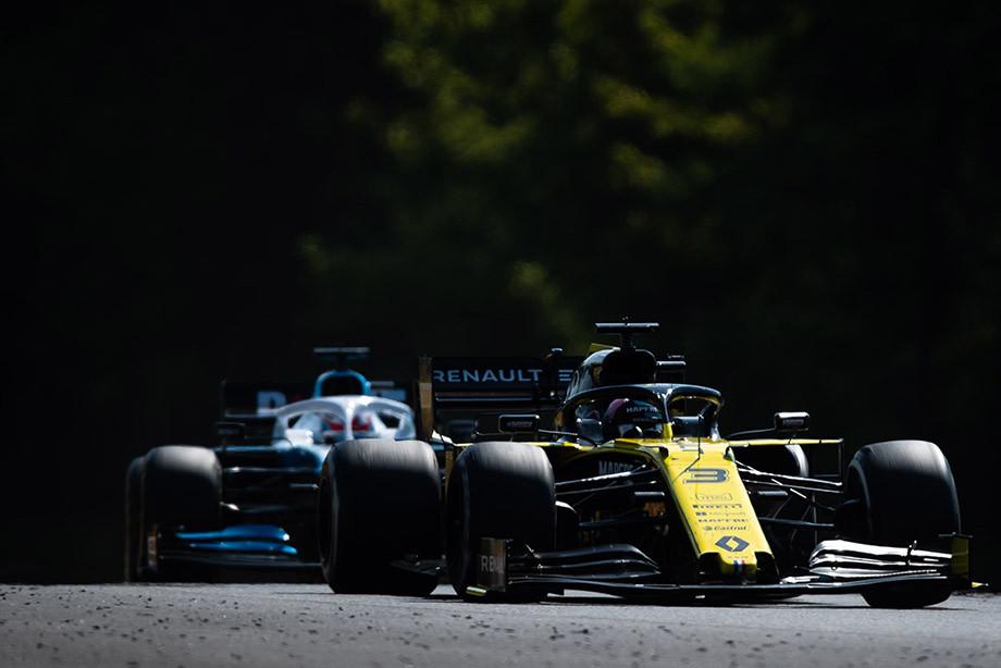 Риккардо на Гран-при Венгрии