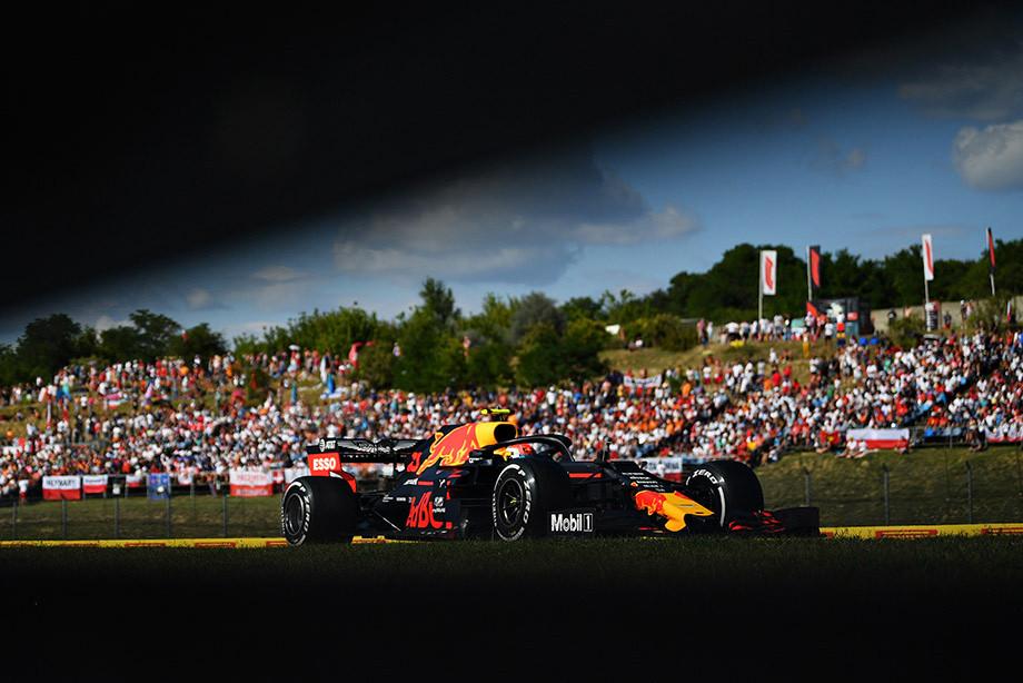 Пьер Гасли на Гран-при Венгрии