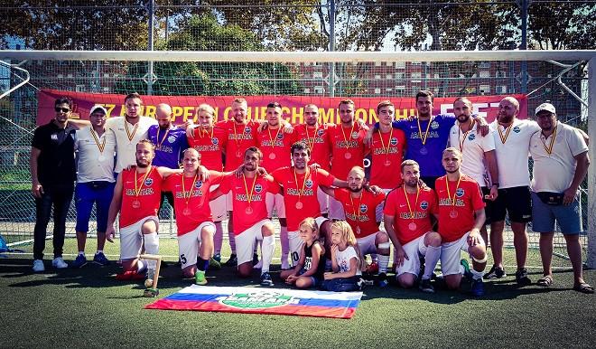 Московский «Авангард» выиграл клубный чемпионат Европы в формате «7х7»