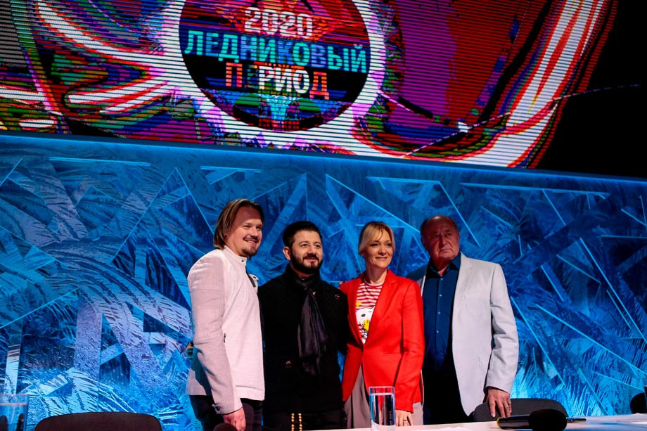 Максим Ставиский, Михаил Галустян и Алексей Мишин