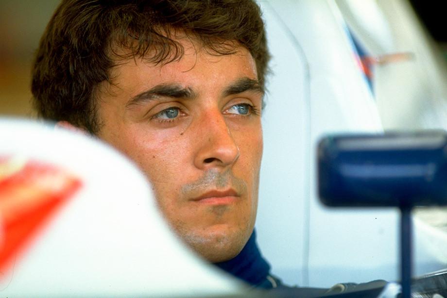 Жан Алези на Гран-при Германии-1990
