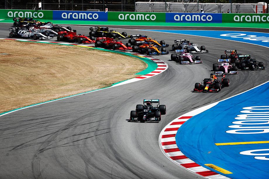 Албон снова провалился, «Феррари» смогла в стратегию. Итоги Гран-при Испании