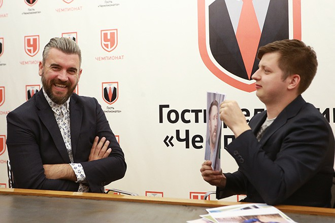 Стипе Плетикоса в гостях у «Чемпионата»