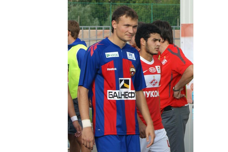 Алексей Никитин в молодёжке ЦСКА