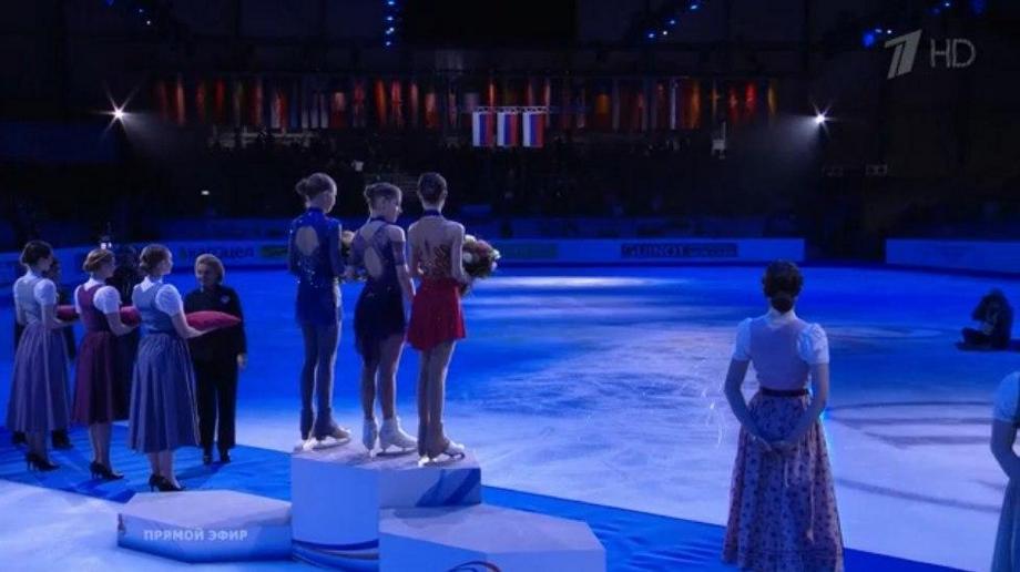Хет-трик российских фигуристок на чемпионате Европы
