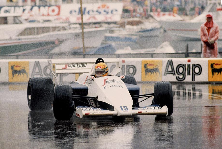 Айртон Сенна на Гран-при Монако-1984