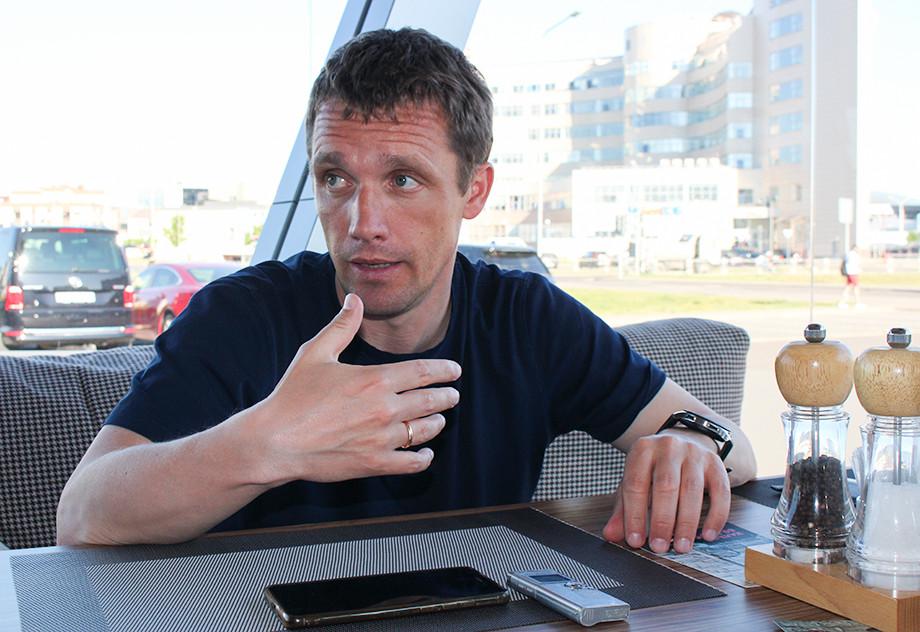 Виктор Гончаренко в Минске