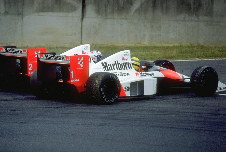 Столкновение Проста и Сенны на Гран-при Японии-1989