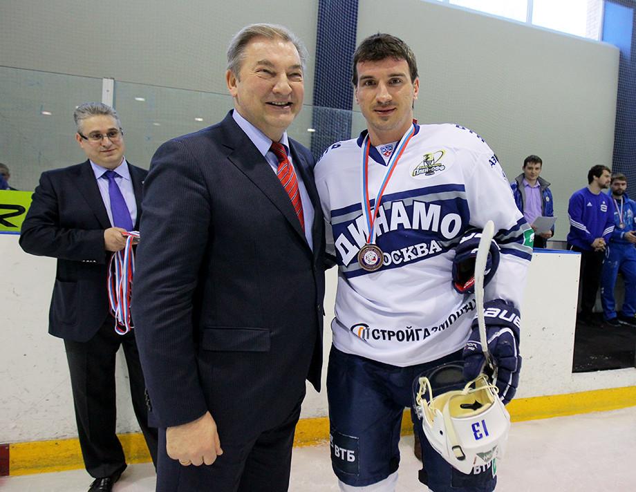 Владислав Третьяк и Николай Жердев