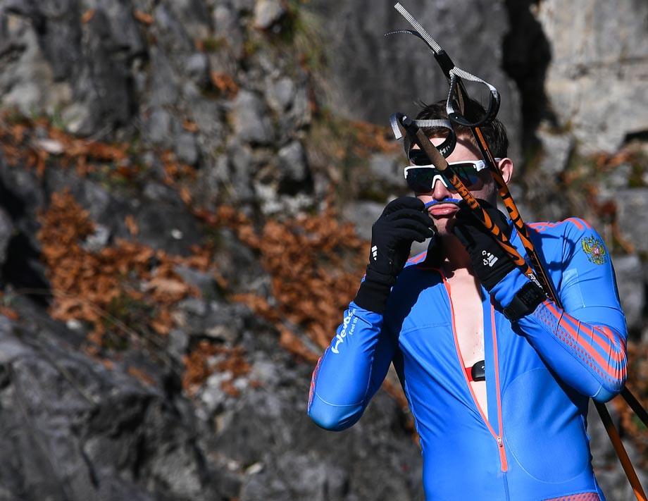 Биатлонист сборной России Шопин дисквалифицирован на год за пьяный дебош и угрозы допинг-офицеру