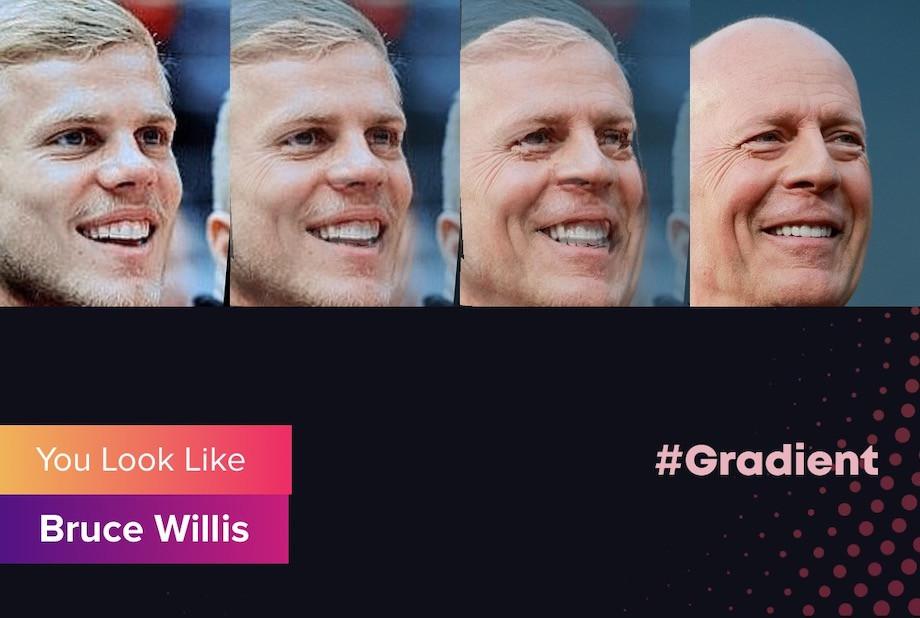 На кого похожи спортсмены? Приложение Gradient. Кокорин, Месси, Хабиб