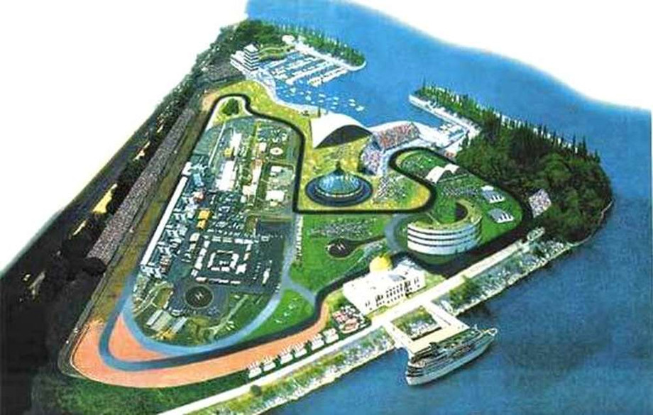 На месте «Острова мечты» должны были построить трассу Ф-1. Всё испортили советники Лужкова