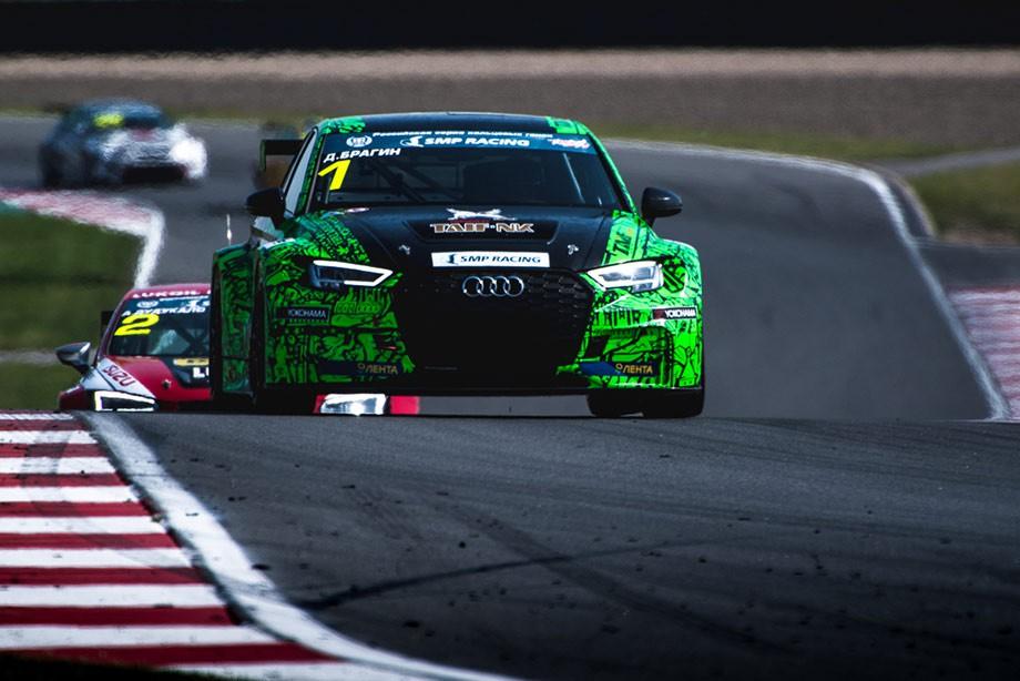 Дмитрий Брагин одержал три победы за рулем Audi и две — выступая на Seat Leon