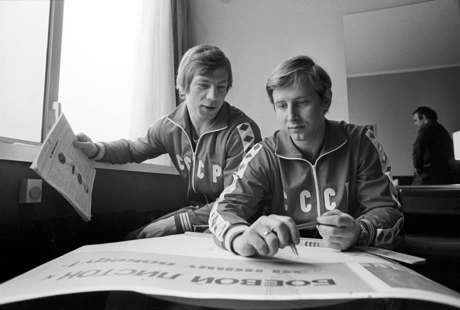 Валерий Васильев и Юрий Ляпкин