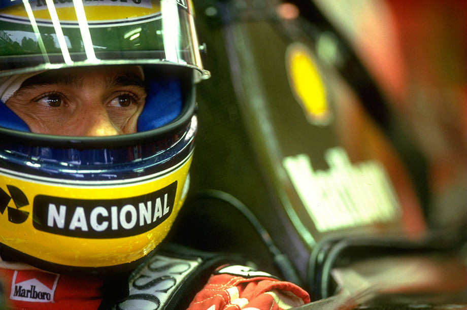Айртон Сенна на Гран-при Бельгии-1992
