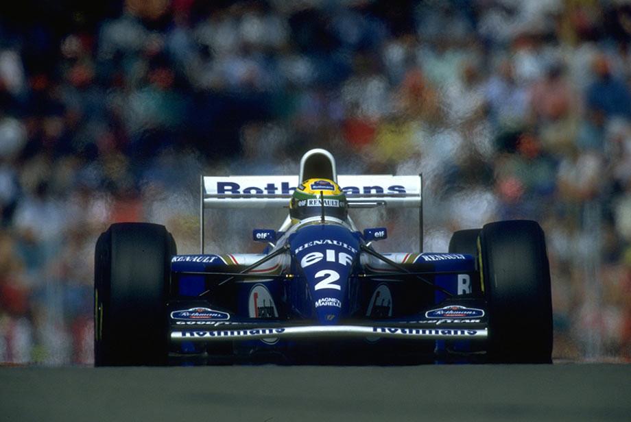 Айртон Сенна на Гран-при Сан-Марино-1994