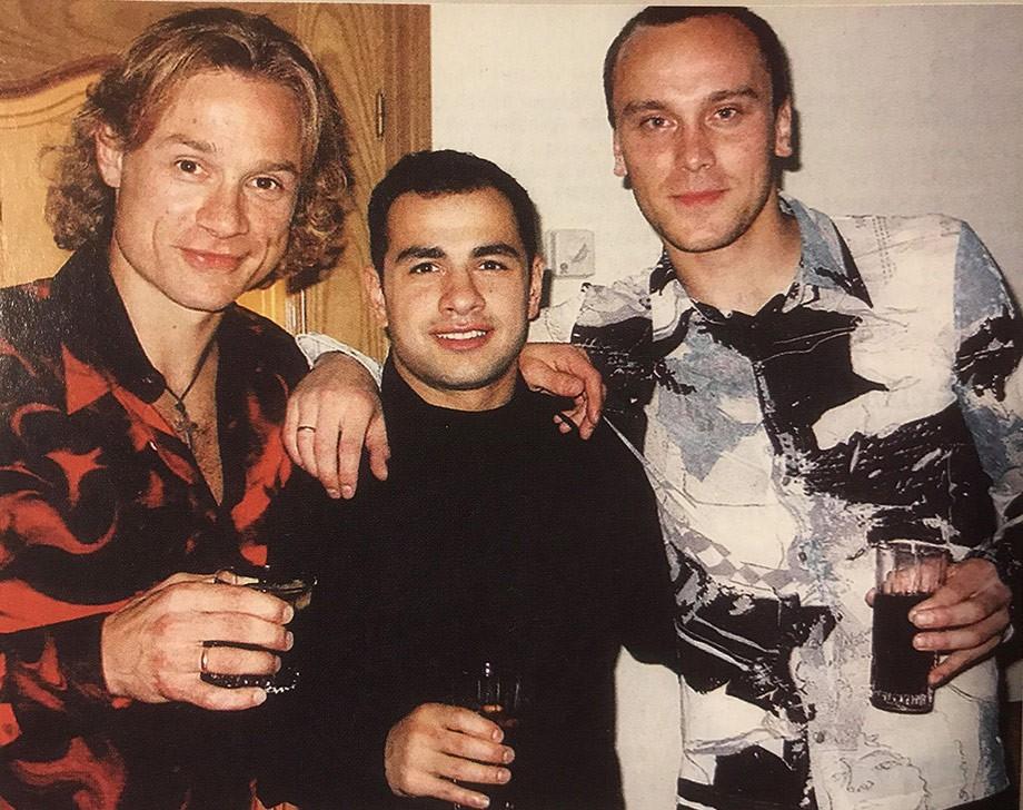 Валерий Карпин, Георгий Деметрадзе и Дмитрий Хохлов