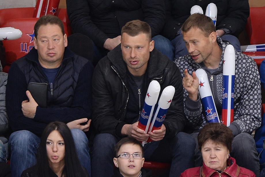 Леонид Слуцкий и братья Березуцкие