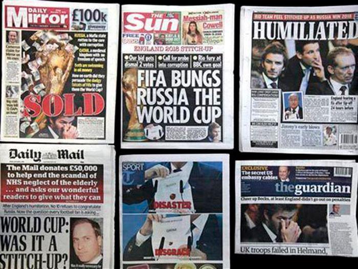 10 лет назад Россия получила чемпионат мира – обзор СМИ того времени — СЕО