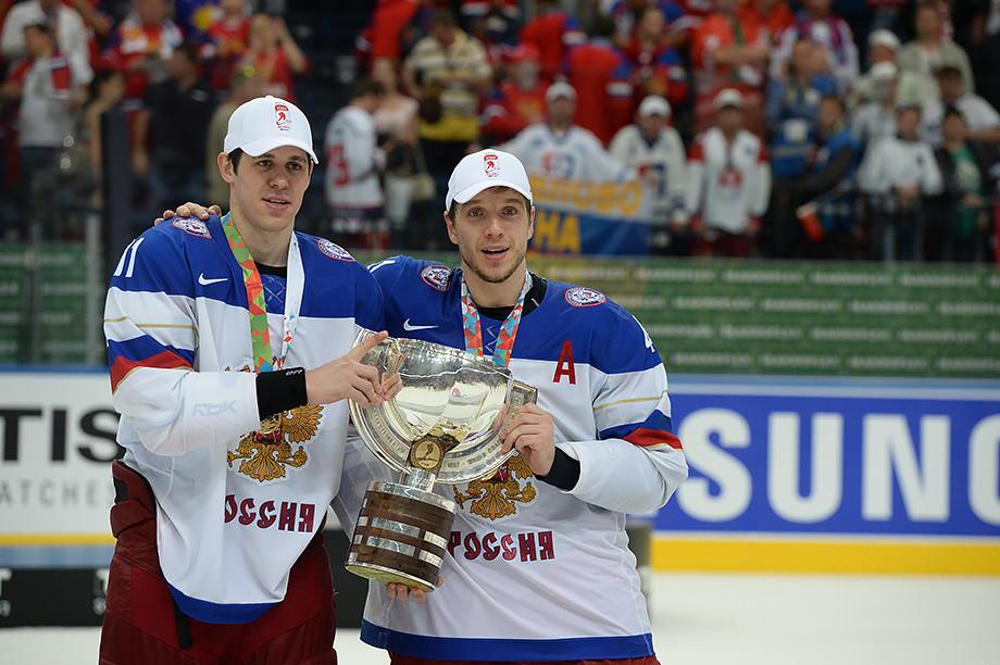 «С Мозякиным играл в локаут». Кулёмин вернулся в Россию после 10 лет в НХЛ