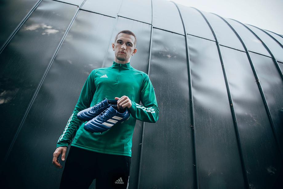 Даниил Уткин с бутсами Copa 20