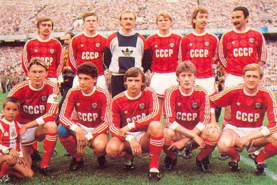 Виктор Чанов в составе сборной СССР