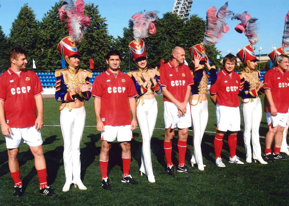 Ветераны сборной СССР