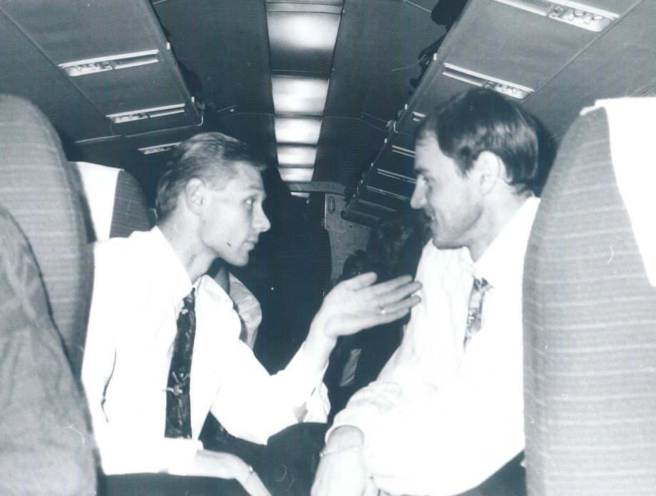 Валерий Карпин и Виктор Онопко