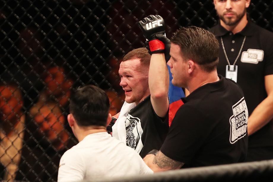 Эксклюзивное интервью с Алексеем Олейником перед UFC Fight Night 185 21 февраля 2021