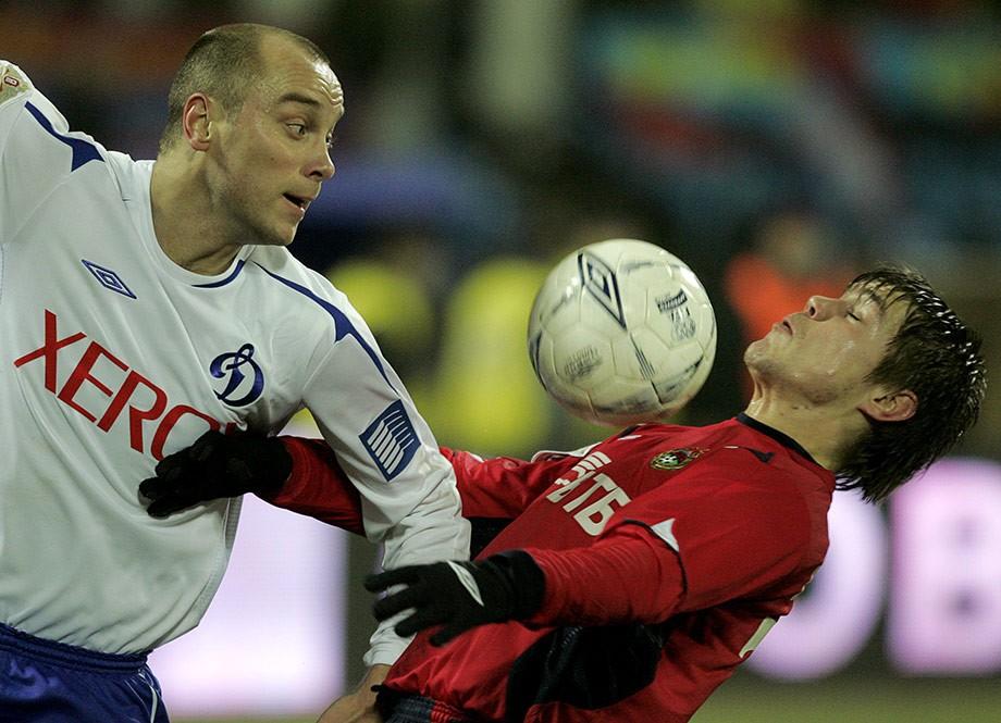 Дмитрий Хохлов в «Динамо»