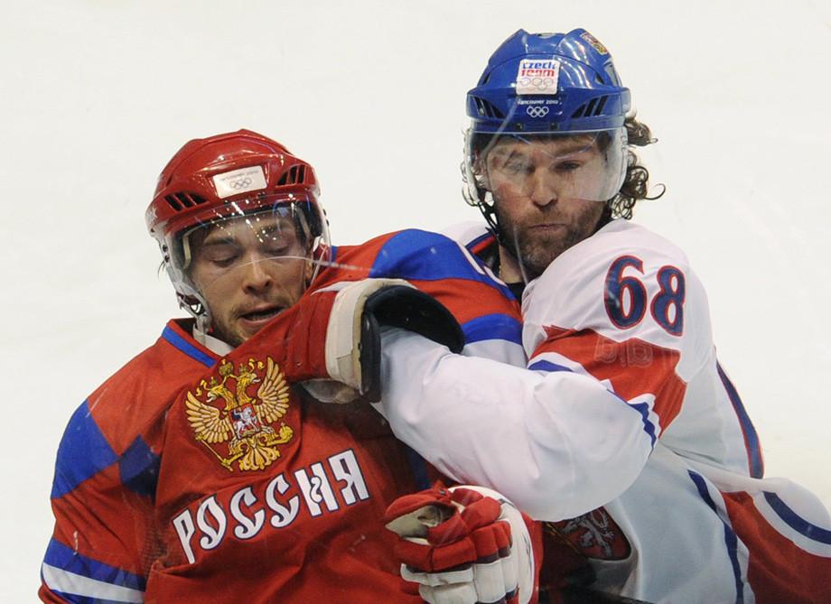 Павел Дацюк и Яромир Ягр