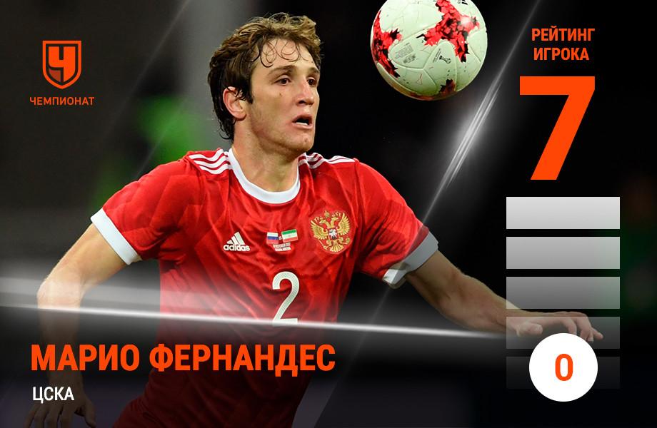 Марио Фернандес, ЦСКА
