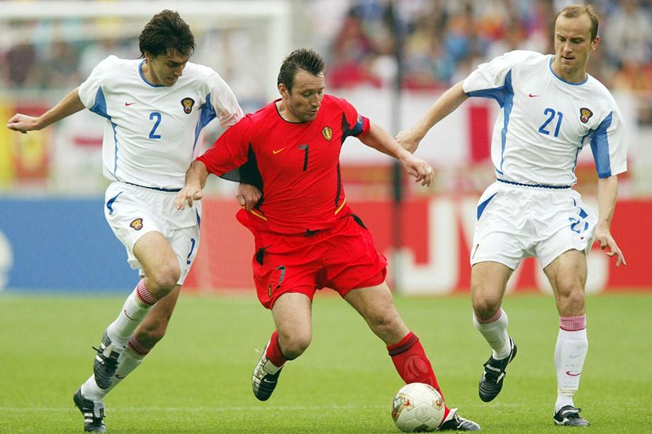 Дмитрий Хохлов на чемпионате мира-2002